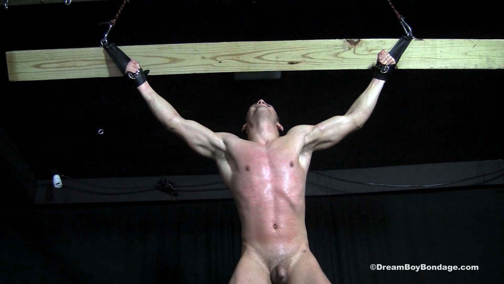 Boy bondage crucify and male foot bondage